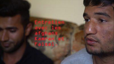 Entretien avec les afghans Kamran et Faisal.