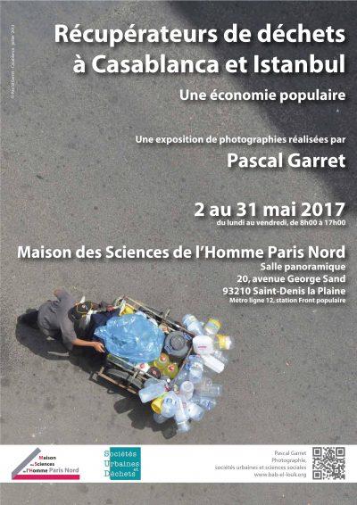 Expo photo – Récupérateurs de déchets à Casablanca et Istanbul : une économie populaire