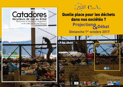 Transformer les déchets en citoyenneté (Projection Débat – Paris)
