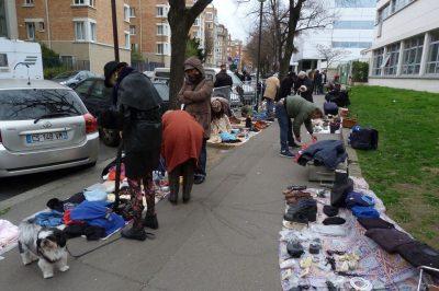 Recherche-action avec les récupérateurs-vendeurs de rue