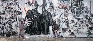 Graffiti hip-hop,  enjeu d'un art dans l'espace public